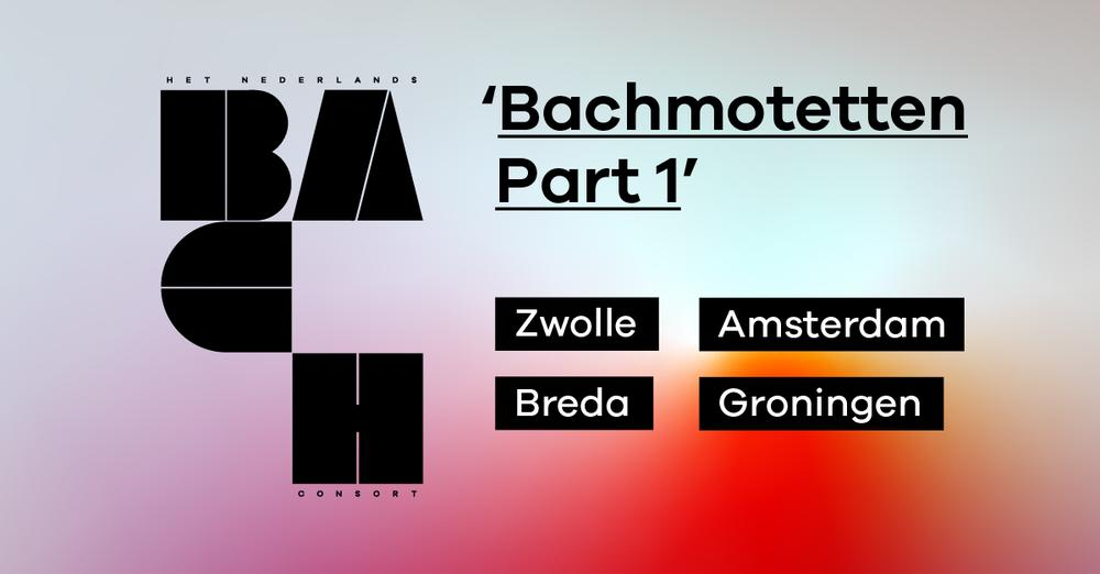 Drie prachtige motetten van Bach